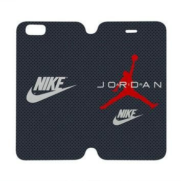 AIR JORDAN Michael Case Wallet iPhone 4/4S 5/5S 5C 6 Plus Samsung Galaxy S4 S5 S6 Edge