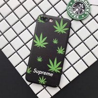 Pot Leaf Supreme FREESHIP Phone Case For all iPhone Models Marijuana Weed
