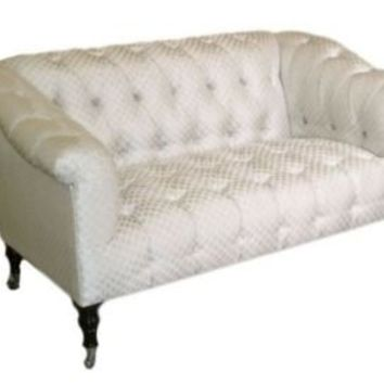 One Kings Lane - Little Bit of Luxe - George Smith Seaton Buttoned Sofa