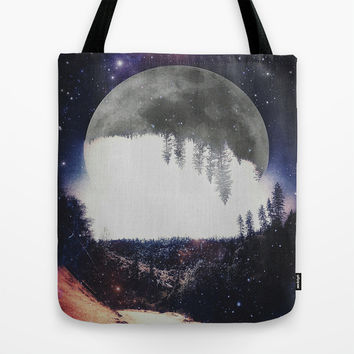 Night Hike Tote Bag by DuckyB (Brandi)