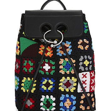 JW ANDERSON Crocheted leather Pierce backpack