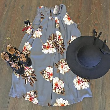 Happiness With You Floral Print Dress