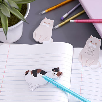 Cat Sticky Note Set