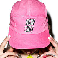 Lazy Oaf New Shit Cap Pink One