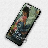 Cartoon Lilo and Stitch Quote - iPhone 7 Plus 6 5C SE Cases & Covers