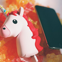 UNIHORNE CHARGER | PINK | UNICORN POWER BANK