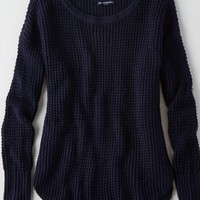 AEO Women's Textured Thermal Sweater