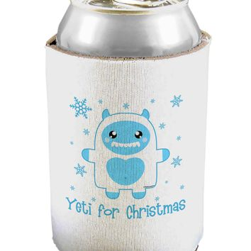 Yeti (Ready) for Christmas - Abominable Snowman Can / Bottle Insulator Coolers