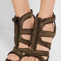 Tom Ford - Pleated satin sandals