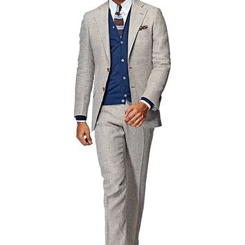 Suit Green Houndstooth Lazio P3839i | Suitsupply Online Store