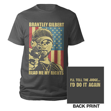 Brantley Gilbert Official Store | Brantley Gilbert READ ME MY RIGHTS Shirt