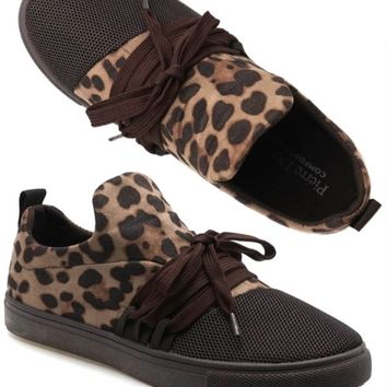 For the Love of Leopard Running Shoes