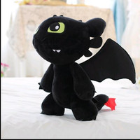 18cm-30cm How to Train Your Dragon 2 Toothless Night Fury Soft Plush Stuffed Doll Toy Christmas Kids Juguetes Gift for Child