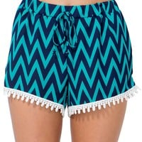 Good Life Crochet Trim Short