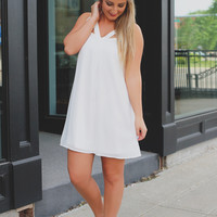Breath of Fresh Air Dress - White