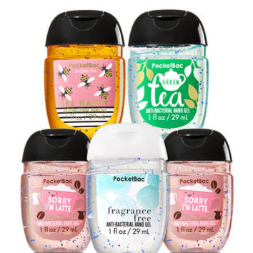 Happy Hands 5-Pack PocketBac Sanitizers | Bath And Body Works