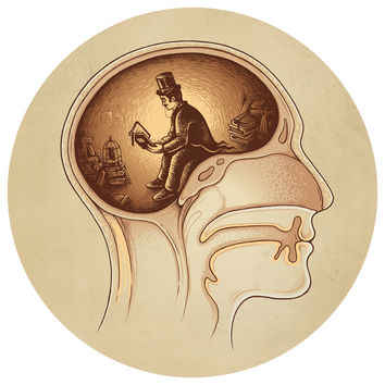 Enkel Dika's Mind Reader Circle Decal