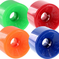 Powerflex 5 63mm 88a Assorted#2 Green/Red/Orange/Blue