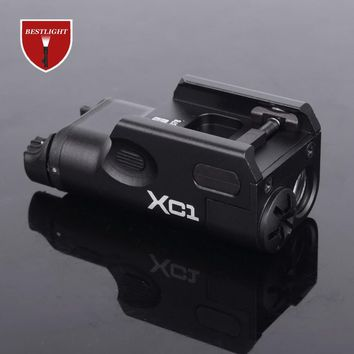 SF XC1 Pistol MINI Light Gun LED Tactical Weapon Light Airsoft Military Hunting Flashlight For GLOCK Free Shipping