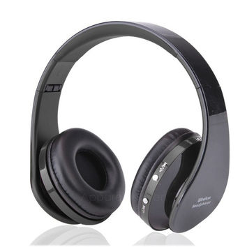 Bluetooth 4.0 Stereo Bluetooth Wireless Headset/Headphones With Call Mic/Microphone AP = 1652805188