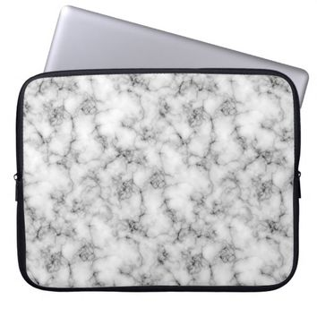 Marble Stone Laptop Sleeve