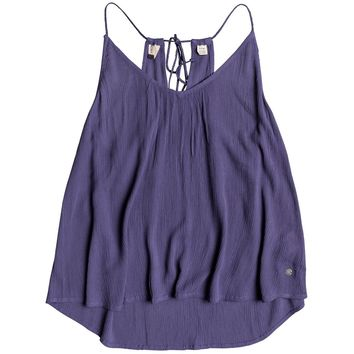 Roxy Junior's Local In The Sky Tank Top, Deep Cobalt, XS