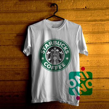 Starbucks Coffee Logo Tshirt For Men / Women Shirt Color Tees
