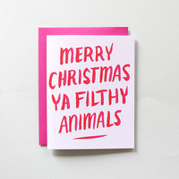 Home Alone Holiday Card