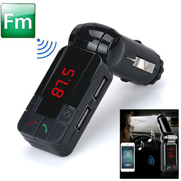 CARPRIE Dual USB Car Kit Charger Wireless Bluetooth Stereo MP3 Player fm transmitter bluetooth car fm mp3