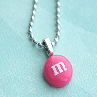 m&m's candy necklace