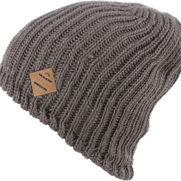 Spacecraft Mason Beanie - gray - Free Shipping