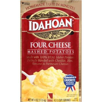 Idahoan Four Cheese Mashed Potatoes, 4 Oz - Walmart.com