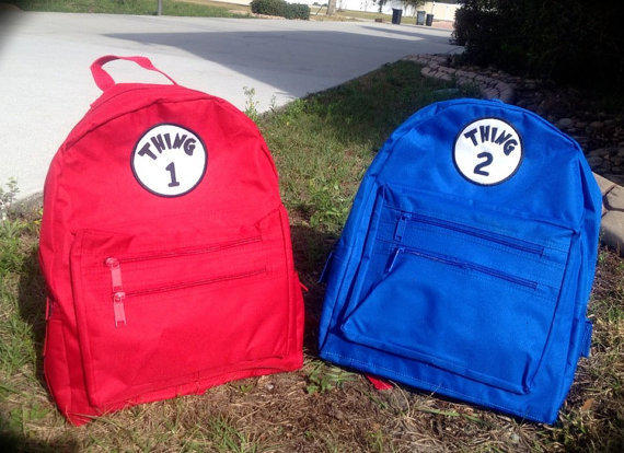 Personalized Backpack Great for School Pick your Color and Design  Embroidery and Applique