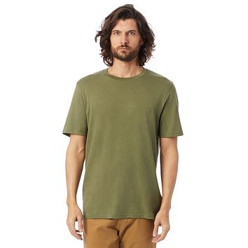 Alternative Apparel - The Outsider Heavy Wash Jersey Army Green T-shirt