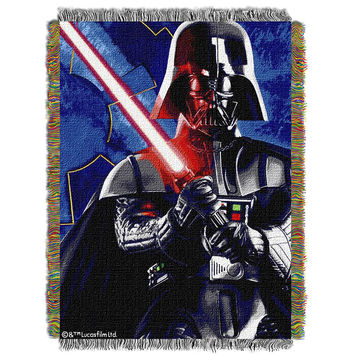 Star Wars Sith Lord  Woven Tapestry Throw (48inx60in)