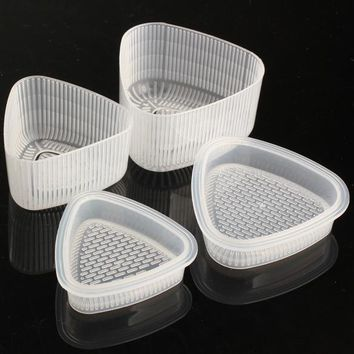 4pcs Sushi Mold Rice Ball Maker Sushi Rice Cake Press Mold Maker Housewife Essential