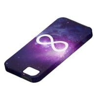 iPhone 5 Galaxy infinity sign case iPhone 5 Covers from Zazzle.com