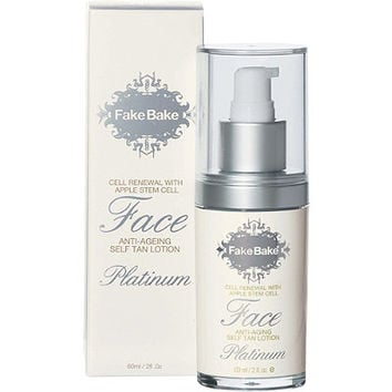 Platinum Face Tanner with Apple Stem Cell Anti-Aging
