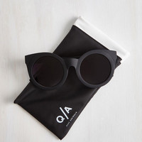 Minimal Sunday Girl Sunglasses by Quay from ModCloth