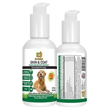 Liquid Vitamins for Skin & Coat for Dogs