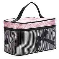 Bow Tie Cosmetic Bag