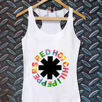 red hot chili papers best customized design for Tank top Mens and Tank top Girls , sizes S - XXL