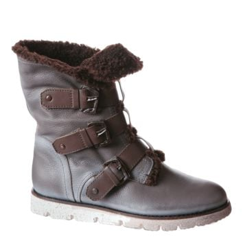 51ef6f08da75 BLACK JACK in DUST GREY Cold Weather Boots