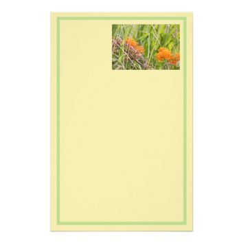 Wildflowers Photo Stationery