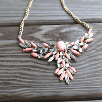 Warrior Princess Necklace {Blush}