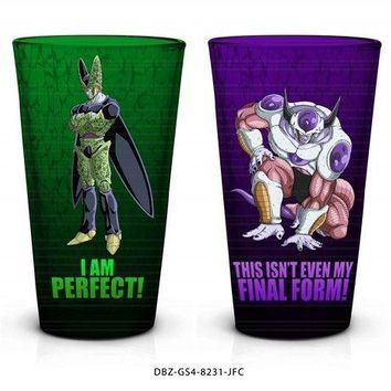 4-Pack GIFT SET of 16oz Dragon Ball Z OFFICIAL Pint Glasses