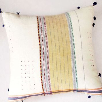"Ahir 24"" Pillow, No. 1"