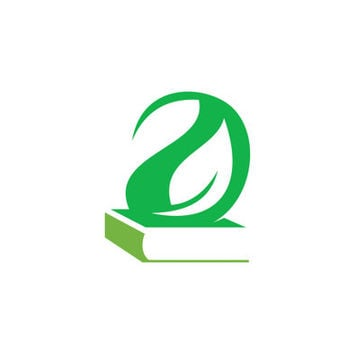 Knowledge Green Book Logo Design Vector for Your Future Business