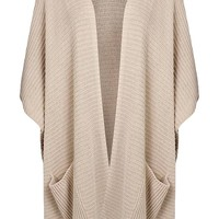 Flora Pocket Cape Cardigan | Boohoo