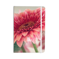 """Robin Dickinson """"Be Happy"""" Pink Floral Everything Notebook"""